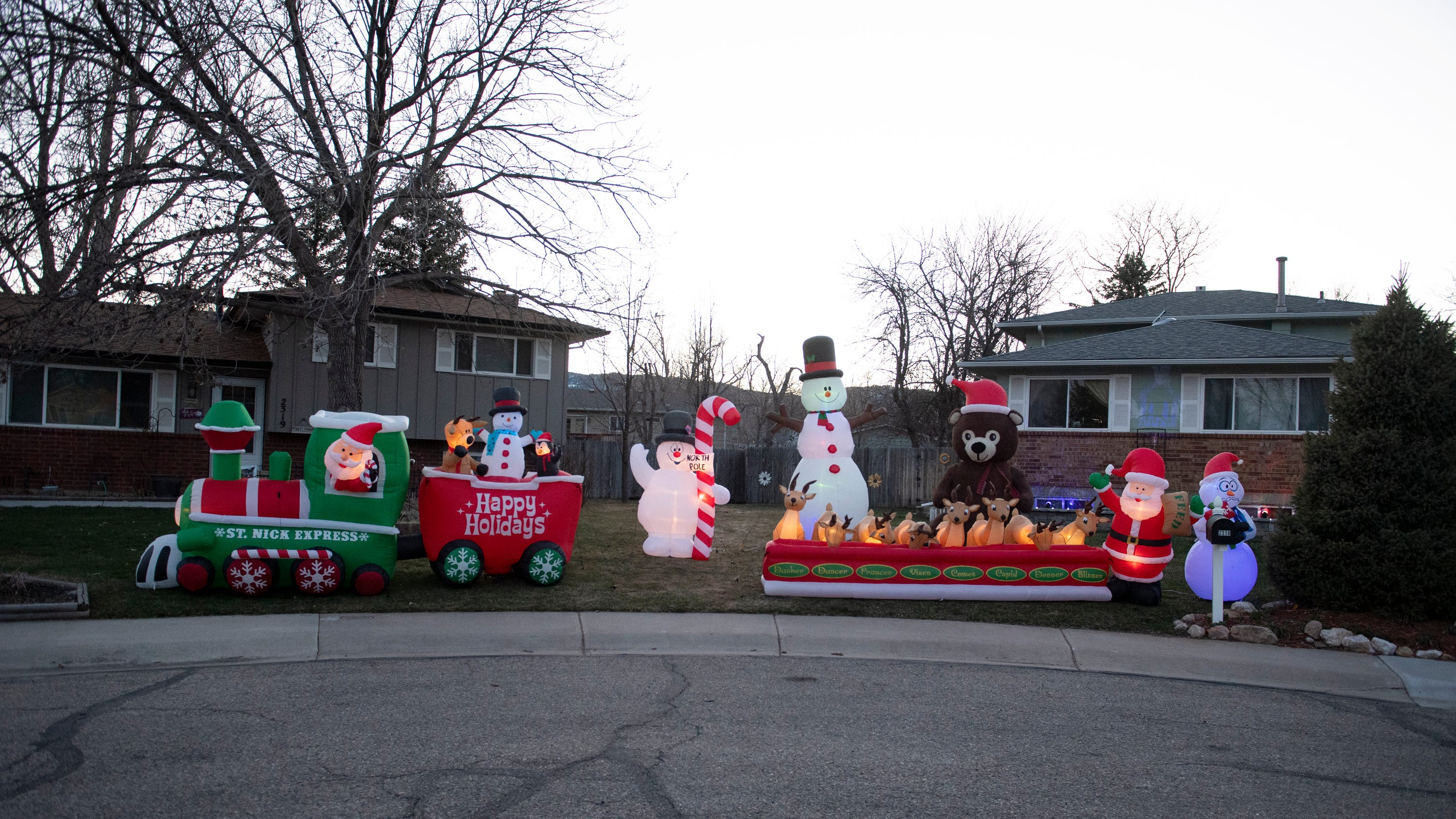 Christmas in March? If you're seeing holiday lights around Fort Collins, here's why