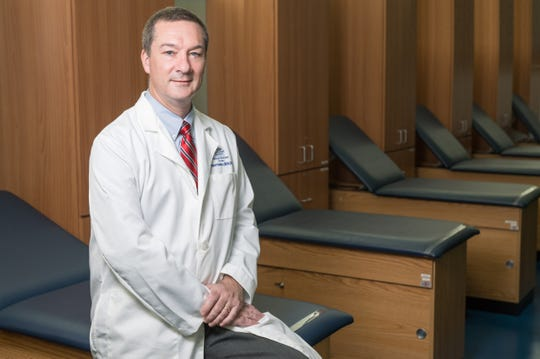 Robert Hawkes is the founding director of the Physician Assistant Studies program in the Marieb College of Health & Human Services at Florida Gulf Coast University
