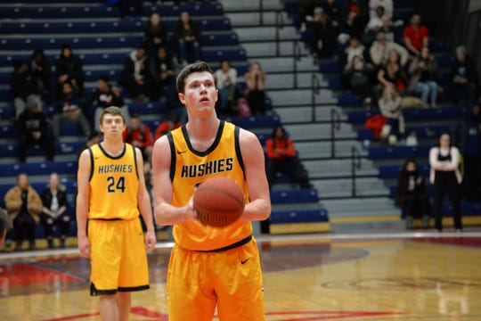 Former Ashwaubenon standout Kyle Monroe is Michigan Tech's all-time leading scorer with 2,542 points.