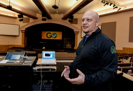 Pastor Robby Robertson of Central Assembly of God Church says that they have added a handful of new streaming services throughout the week as social distancing guidelines have discouraged large gatherings.