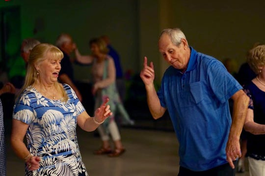 The Pearl Senior Adult Programs is asking for donations, like canned good and cleaning supplies, for area seniors who can't get out due to the coronavirus.  This April, 2019 photo is from one of center's quarterly dances.