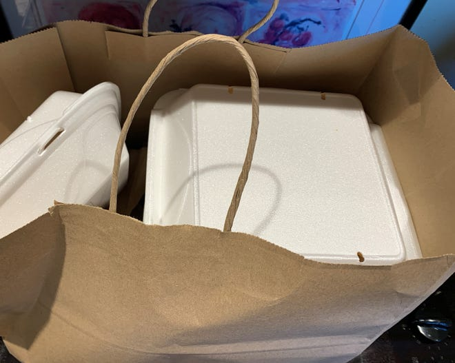 Mountain Home Cares will distribute 400 meals Friday afternoon on the campus of Arkansas State University-Mountain Home.