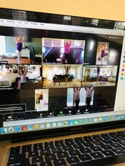 Montgomery Ballet teachers are using ZOOM to instruct classes online.