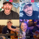 "On the ""Risky Jam"" livestream, Whiskey Jam founder Ward Guenther, top row, checks in with Nashville stars like Ashley McBryde, bottom left, Lauren Alaina, bottom center, and Taylor Lewan, bottom right."