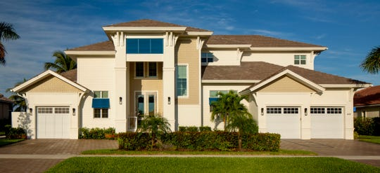 Divco Custom Homes' Caxambas model is located on a waterfront homesite on Marco Island.
