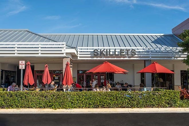 A customer left a $10,000 tip at the Skillets restaurant at The Pavillion in North Naples.