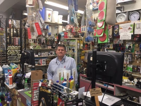 Jerry Guarino, owner of Major Hardware Supply in Cedar Grove.