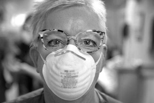 Arlene Van Dyk is a critical care nurse at Holy Name Medicaid Center in Teaneck.