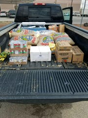 Jeremiah Richardson delivers food and supplies to the elderly and disabled in Las Cruces.