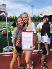 Annie Heitmeier is founder and president of Northville High School's Color My World club. The senior has received state recognition for her mental health awareness and suicide prevention efforts.