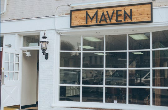 Maven is located at 9 Center Square in downtown Hanover.