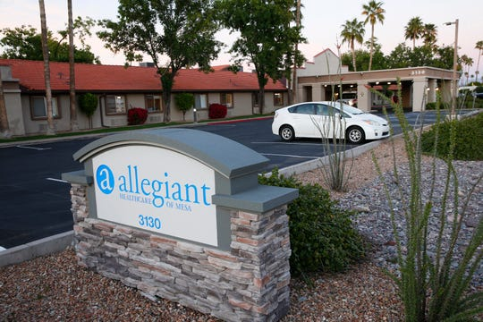 A Centers for Medicare and Medicaid Services spokesperson said some nursing homes, such as Allegiant Healthcare of Mesa, that receive infection control citations aren't fined because the citations aren't severe enough.