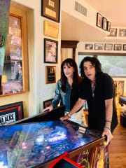 Alice and Sheryl Cooper pictured at home in Arizona.