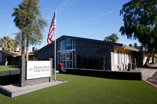 Desert Haven Care Center in Phoenix is one of five long-term-care facilities in the state that had deficiency citations for infection control in three different inspections.