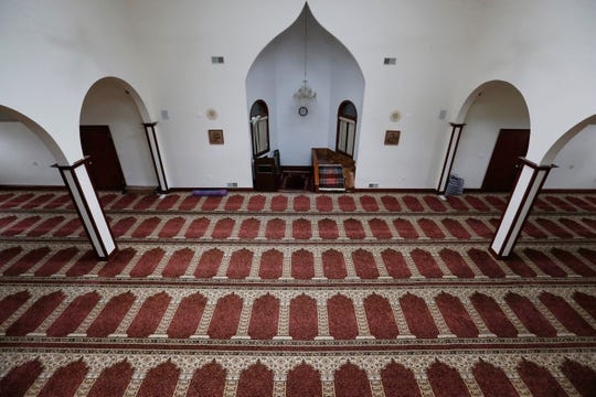 The prayer hall inside Masjid Al Noor located in the Town of Wappinger on March 25, 2020. The masjid is managed by Mid Hudson Islamic Association.