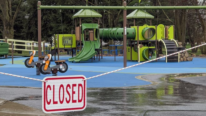 Springettsbury Township's Castle Park is one of many township and county parks that are now closed due to coronavirus guidelines on social distancing.