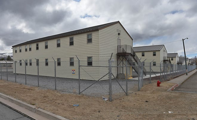 The Camp Stead Training Center March 25, 2020. The barracks might be used to house the homeless during the coronavirus outbreak.
