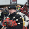 """John Thompson took up playing bagpipes a couple of years ago. Now he plays """"Amazing Grace"""" nightly for neighbors."""