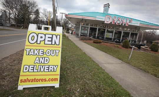 Despite the coronavirus pandemic, Donuts Delite is still open for business Wednesday, March 25, 2020.  They are open for take-out or delivery, including touchless delivery, anywhere in Monroe County, offering breakfast, lunch or dinner items. Orders can be called-in at (585) 288-5555. Hours open are from 6am to 9pm seven days a week.