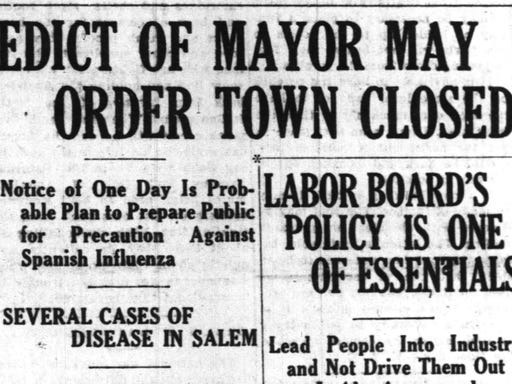 Salem History: How the 1918 Spanish flu pandemic compares to COVID-19
