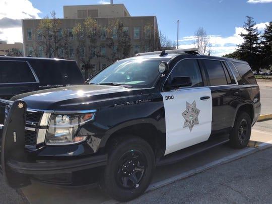 A Salinas police cruiser
