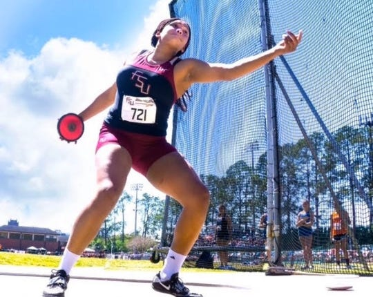 Florida High School discus/shot put thrower Jhordyn Stallworth will likely miss her senior season due to a potential cancellation in the wake of the coronavirus pandemic.