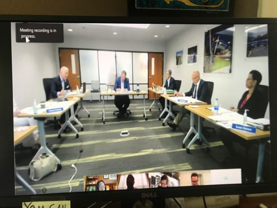 The Blueprint Intergovernmental Agency met by teleconference to discuss a local stimulus package to help businesses struggling while coronavirus continues to spread