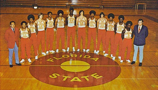 The 1971-72 Florida State men's basketball team, coached by Hugh Durham.