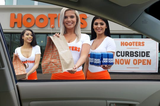 Stressed out? Hooters is among several restaurants offering spirits to go along with food.