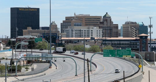 Interstate 10 near Downtown El Paso.