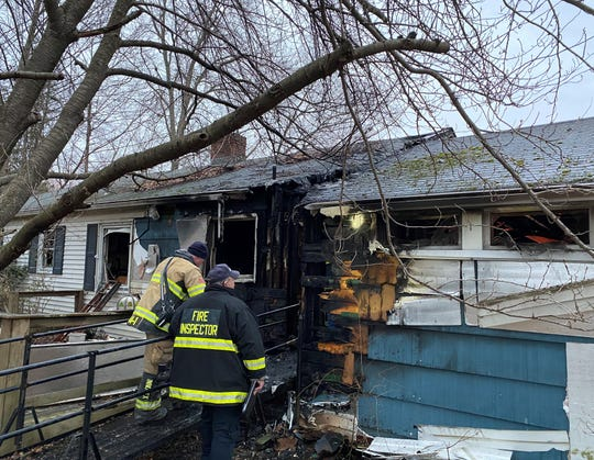 A woman died in a house fire on Wheeler Place in West Nyack on March 25, 2020.