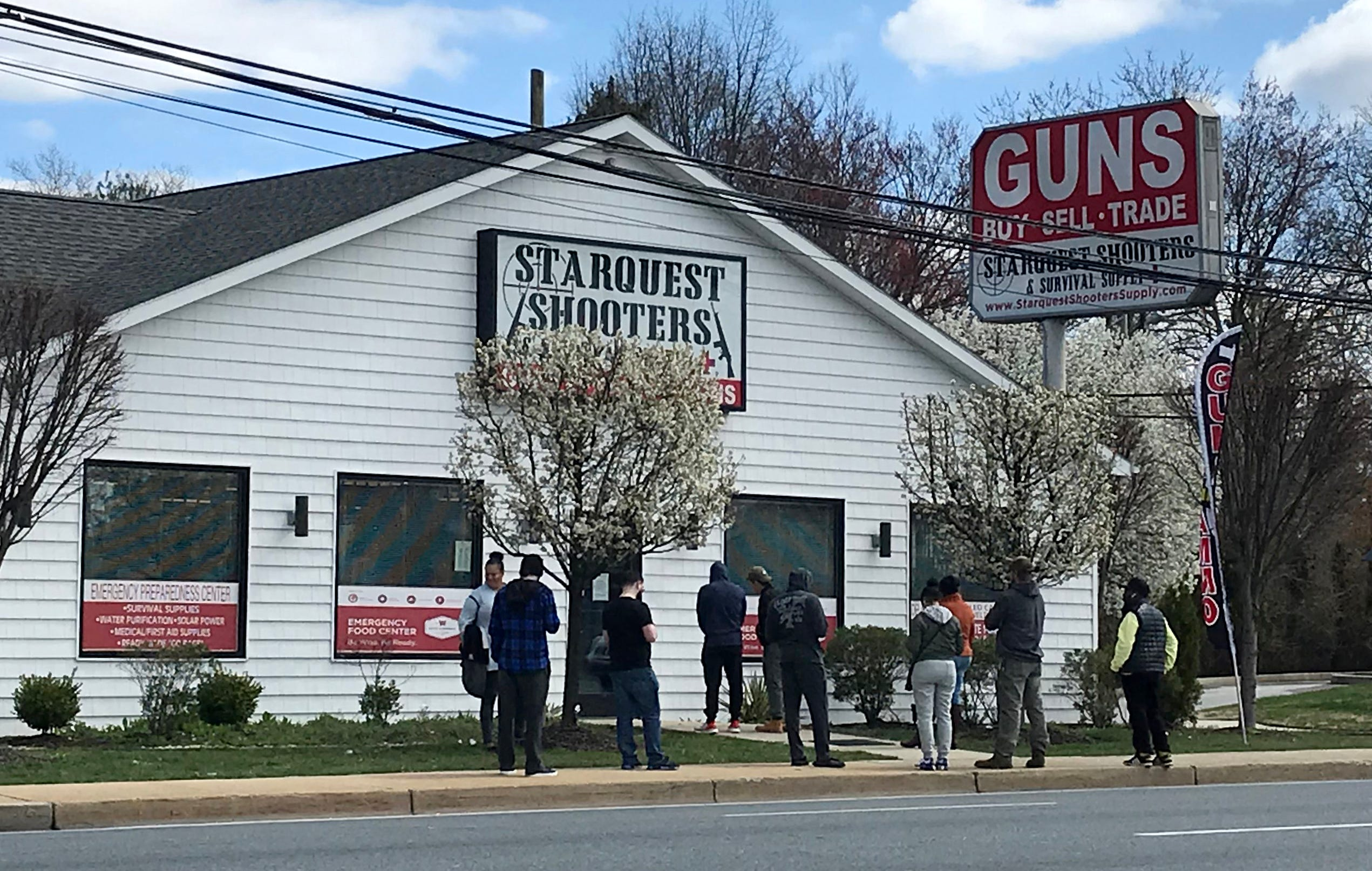 Gun shops defy Delaware order to close, which shoppers say violates 2nd Amendment rights