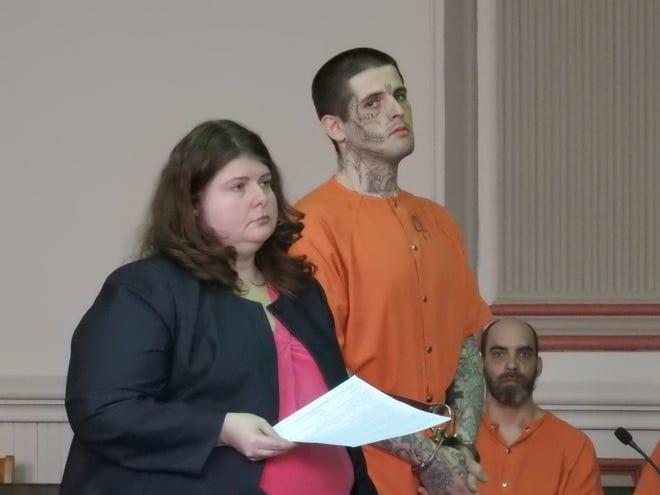 Charles Buckner of Zanesville was sentenced to 25 years in prison for attempting to kill a fellow city jail inmate with a pen.