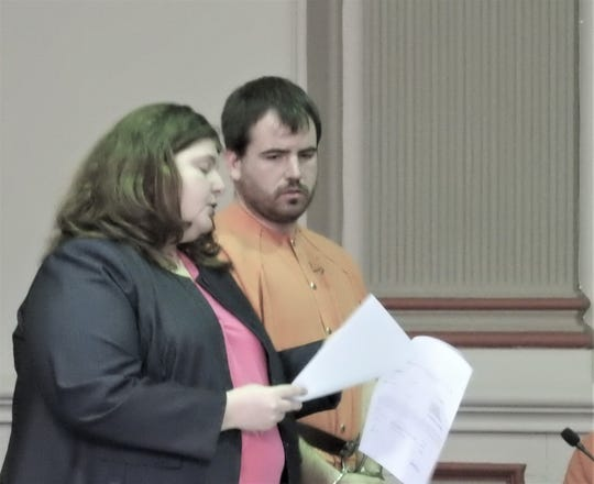 Fred Pitts, 31, is facing 30 years in prison after pleading guilty to a prosecutor's bill of information containing nine counts of unlawful sexual conduct and one count of gross sexual imposition.