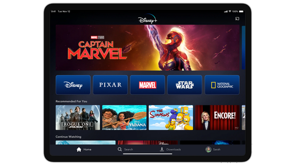 You can stream Disney+ on a range of devices.