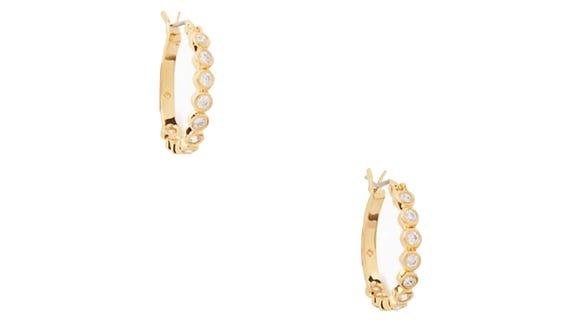 These earrings are extraordinary, and they're on sale.