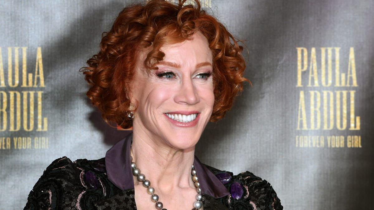 Kathy Griffin comes home sick from hospital, couldn't get COVID19 test