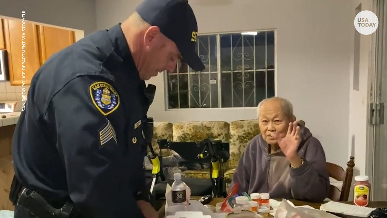 Cops Go To Grocery Store For 95 Year Old Man During Coronavirus