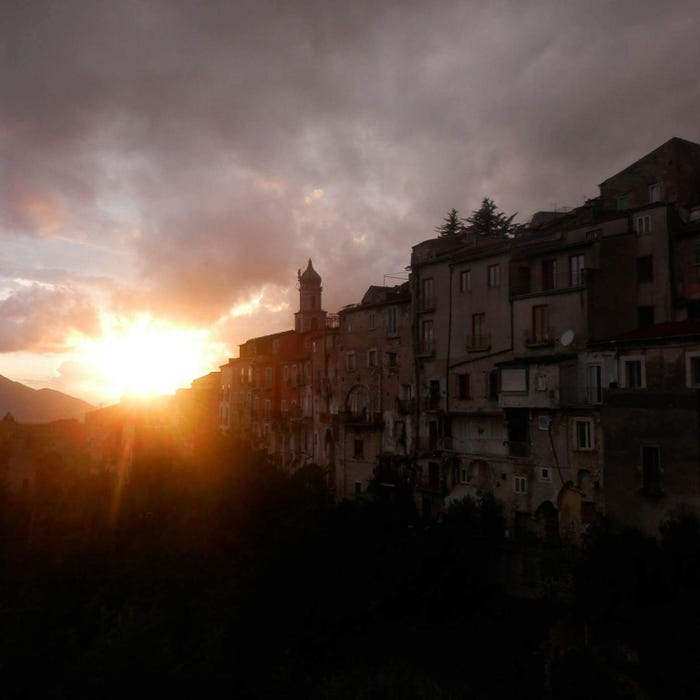 Coronavirus: The little town in Italy my family left behind