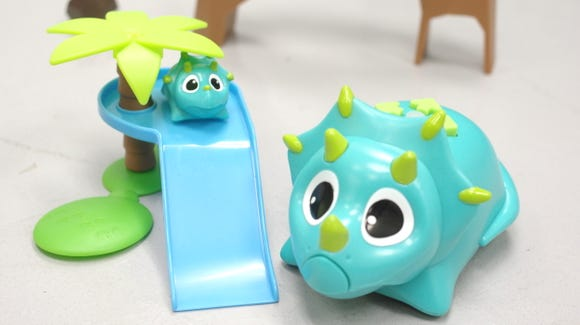 Rumble and Bumble are the stars of this Coding Critters playset.