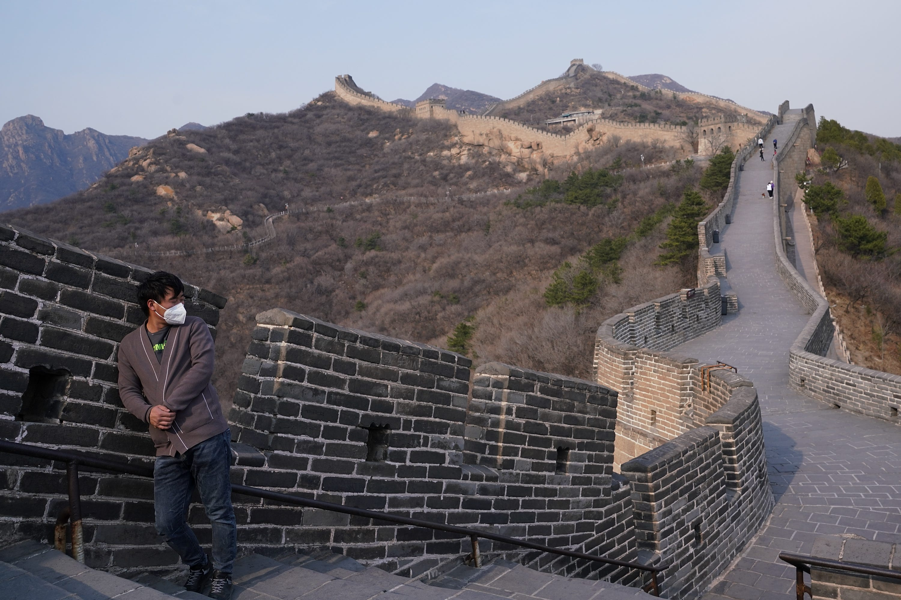 Coronavirus: Great Wall of China section reopens to public