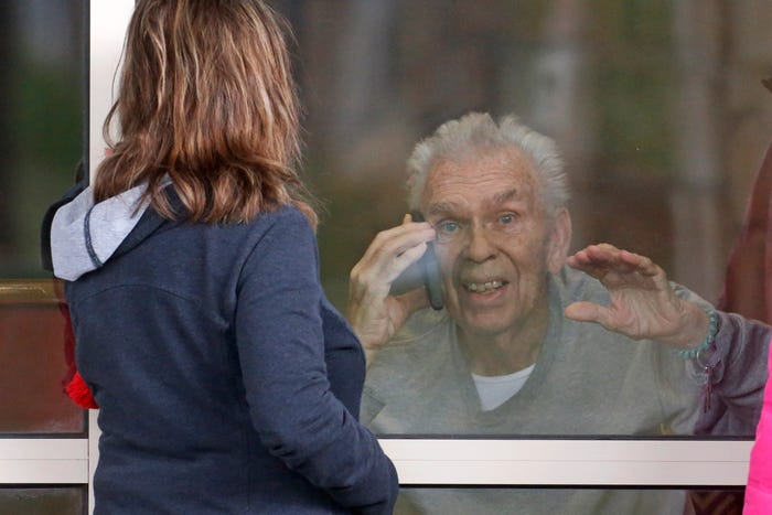 COVID-19 is dangerous for seniors. But that threat increases in rural counties where care is far away.