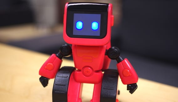 Coji is a zippy robot that uses emojis to teach kids about programming.