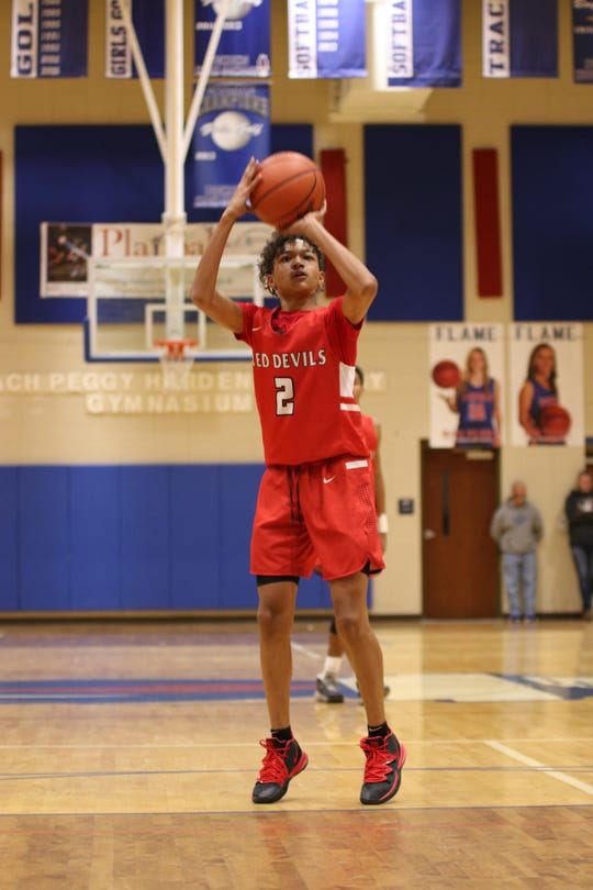 Liberty point guard Bradyn Moss was an All-Region 1-AAA selection for the 2019-2020 season.