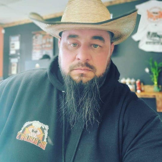 Chris Barlow is the owner of Big Barlow's BBQ & Catering in Barnegat.