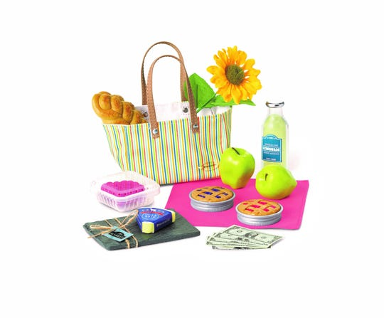City Market Goodies, from American Girl, make a realistic picnic for a doll. American Girl products are designed for children ages 8 and up.