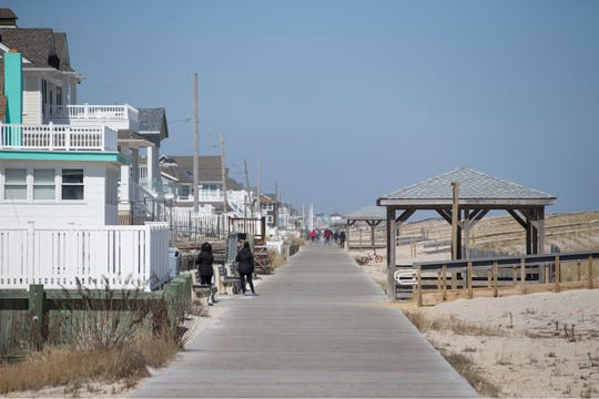 Jersey Shore residents may find it difficult to exercise outdoors in some areas during the stay at home campaign. Various towns have put up restrictions to encourage 'social distancing' and slow down the spread of coronavirus. The beach and boardwalk of Lavallette is now off limits.    Lavallette, NJThursday, March 26, 2020