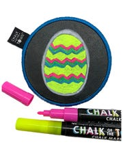 Design a patch for Easter, erase it, and start anew with kits from Chalk Of The Town.