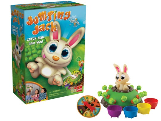 Jumping Jack will keep the kiddos occupied.