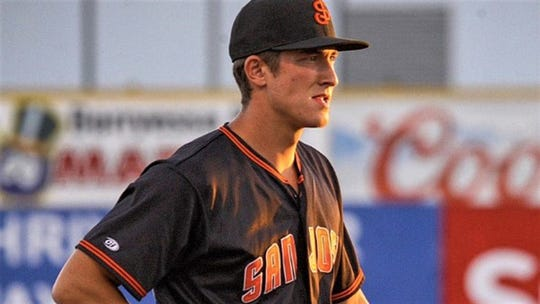 Shane Matheny hit .227 with 10 home runs, 19 doubles and 52 RBI in the minors last season.